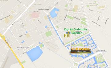 Valencia Garden nằm ở vị trí nào trong khu đô thị Việt Hưng?
